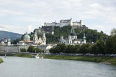 Fortress Hohensalzburg — Stock Photo