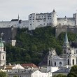 Hohensalzburg in Austria - Stock Photo