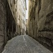 Stock Photo: Small Alleyway