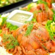 Salmon Appetizer — 图库照片