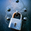 Rusty Lock — Stockfoto