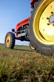 Colourful Tractor — Stock Photo
