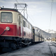 nostalgy train — Stock Photo