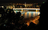 Linz at Night — Stock Photo
