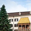Golden Roof with Christmas Tree — Lizenzfreies Foto