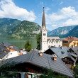 Church of Hallstatt — Stock Photo