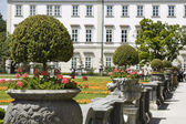 Mirabell Park in Salzburg — Stock Photo