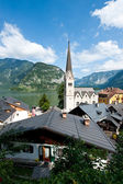 Church of Hallstatt — Stock Photo