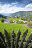 Wooden Fence in South Tyrol — Stock Photo