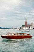 Boat in Venice — Stock Photo