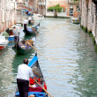 Stock Photo: Gondoliers