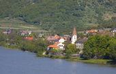 Village in the Danube Valley — Stock Photo