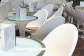 White Cafe — Stock Photo