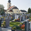 Graveyard in Austria — Stock Photo