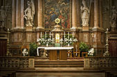 Altar in an Abbey in Austria — Stock Photo
