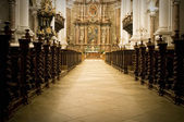View to the Altar — Stock Photo