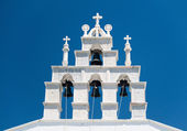 White Bell Tower — Stock Photo