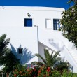 Stock Photo: White Apartment in Greece