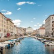 Canal Grande in Trieste - Foto Stock