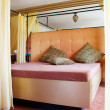 Stock Photo: Kingsize Bed in Brothel