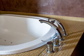 Hotel Bathtub — Stock Photo