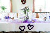 Festive Wedding Table — Stock Photo