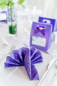 Celebration Table Setting — Stock Photo