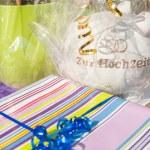 Wedding Gifts — Stock Photo