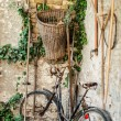 Antique bicycle — Stockfoto
