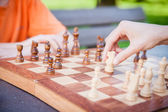 Chess Move — Stock Photo