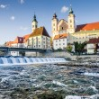 Cityscape of Steyr — Stock Photo