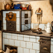 Antique Kitchen — Foto Stock