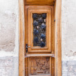 Antique Door in Alsace — Stock Photo