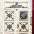 Antique Door in France — Stock Photo