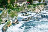 Famous Waterfall in Swiss — Stock Photo