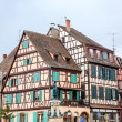 Frame House in Colmar — Stock Photo