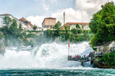 Rheinfall in Swiss — Stock Photo