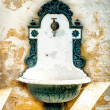 Antique Washing Basin — Foto de Stock