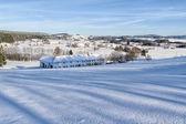 Winter Landscape in Upper Austria — Stock Photo