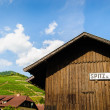 Stock Photo: Wooden Hut in Wachau