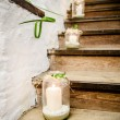 Stock Photo: Lanterns on Staircase
