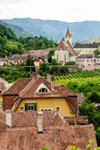 Over the Roofs of a Village — Stock Photo