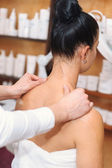 Shoulder Massage — Stok fotoğraf