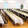 Stock Photo: Festive Hall with Decorated Tables