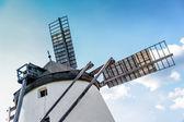 Windmill against blue Sky — Stock Photo