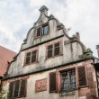 Top of a house in alsace — Stock Photo