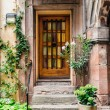 Doorway of a Beautiful Old House — Stock Photo