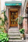 Nedalekého krásného starého domu — Stock fotografie