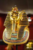 Burial mask of the egyptian pharaoh Tutankhamun — Stock Photo