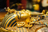 Máscara do faraó tutankhamon — Fotografia Stock